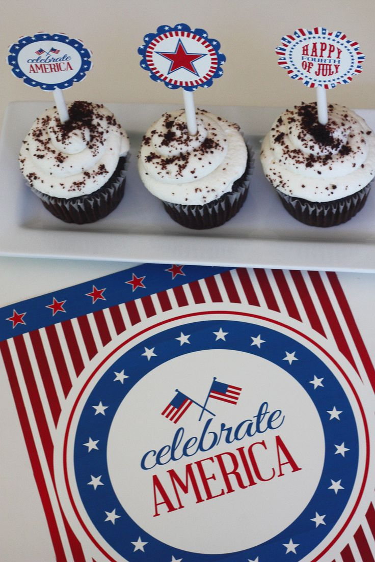 Free 4th of July printables from Frog Prince Paperie at Catch My Party