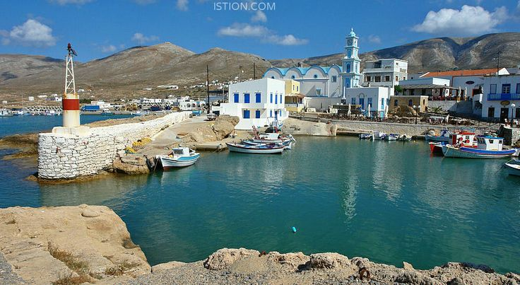 Kasos, it is the southernmost island in the Aegean Sea.