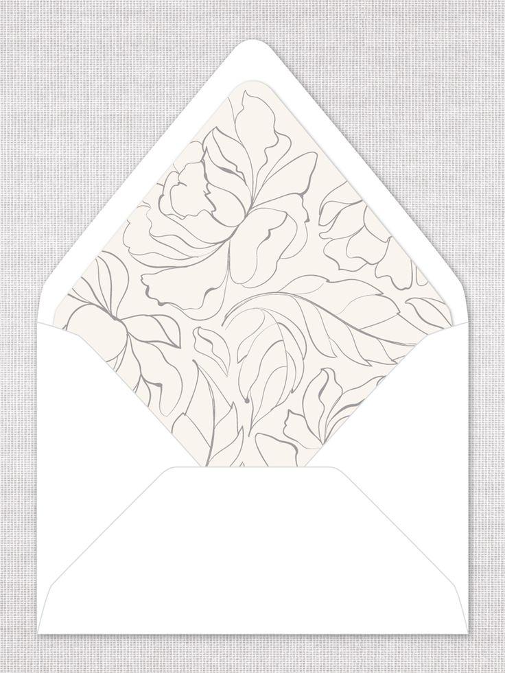 The Soren Envelope Liner by Everly True Wedding Invitations