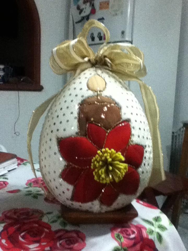 huevo en patchwork sin aguja