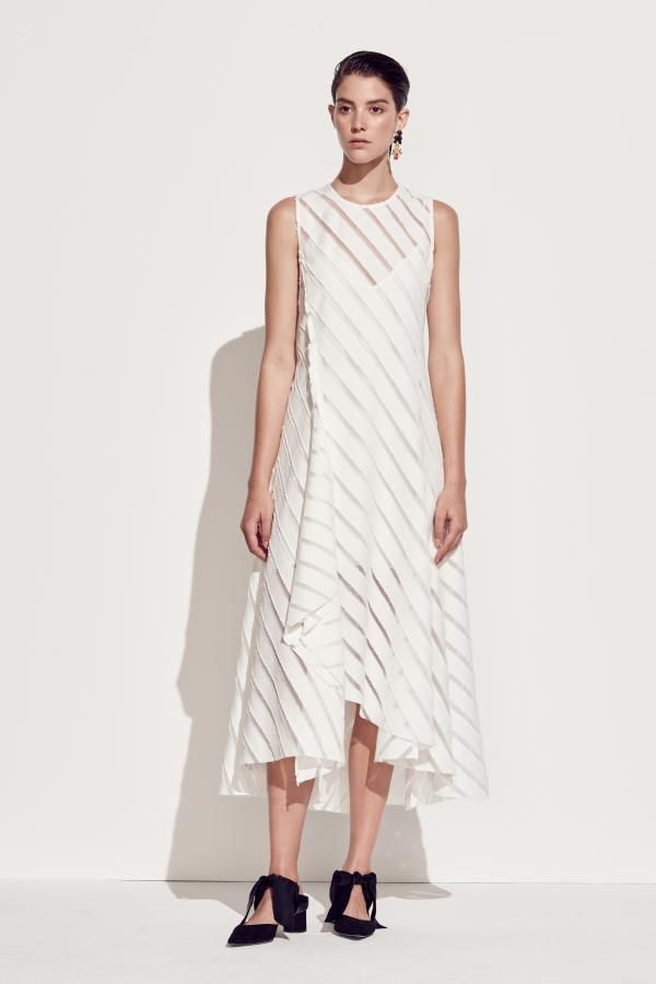 The Statice Midi Dress by CAMILLA AND MARC from their Resort 2016 Collection.