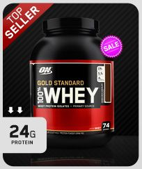100% Whey Gold Standard Nutrition Information