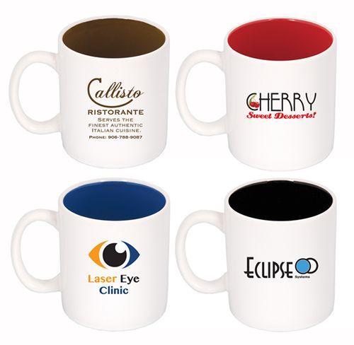 15 OZ. Two-Tone Ceramic Mug
