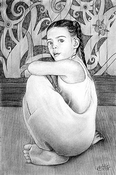 Little Girl by gablim.deviantart.com on @deviantART