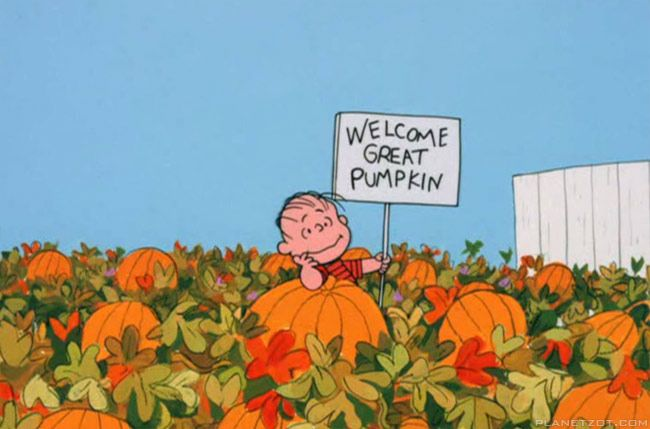 Image from It's the Great Pumpkin, Charlie Brown | Planetzot.com (1966)