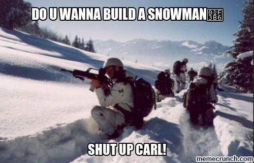 """I always see these """"Shut up Carl"""" meme's who is he and where did it origin from ? Is or was there an actual person ? LOL"""