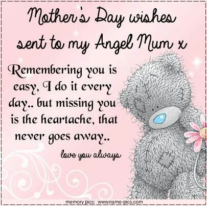 For mums in heaven | Tatty Teddies & Blue Nose Friends ...