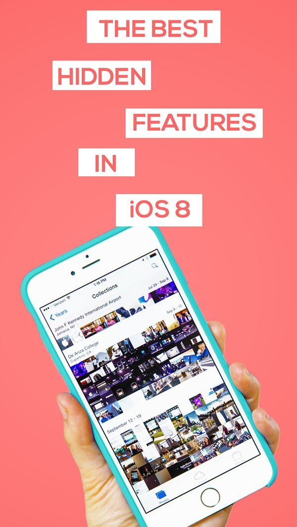 Apple can be pretty sneaky sometimes, so here are some of the best new features hidden in iOS 8 that you probably didn't know about! #Technology