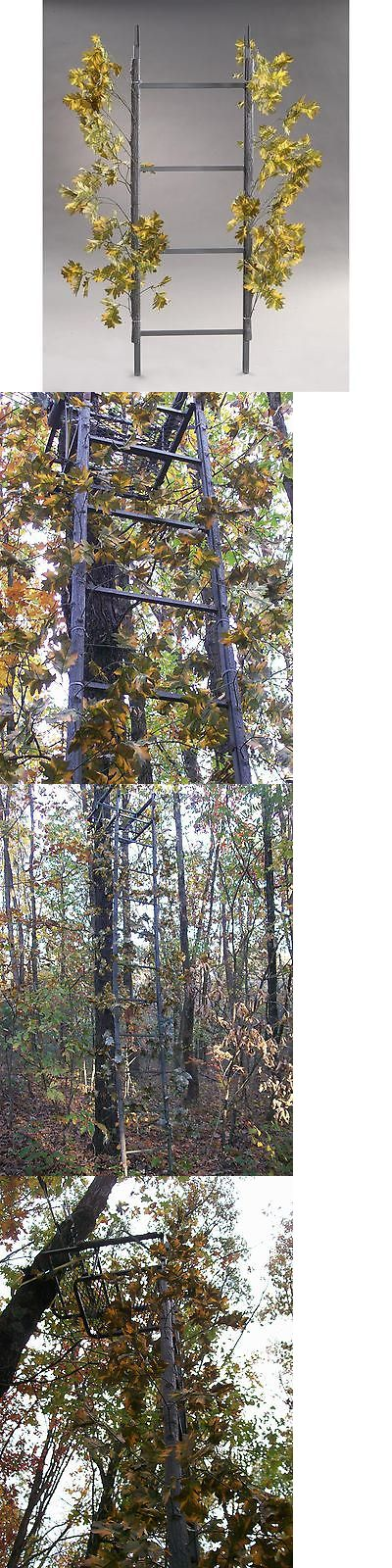 Blind and Tree Stand Accessories 177912: Deer Stand 16Ft Ladderflauge System Camo Climbing Ladder Tripod Blind Turkey -> BUY IT NOW ONLY: $57.01 on eBay!