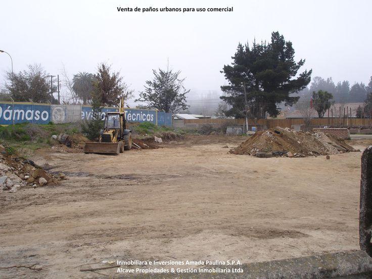 Terreno Estación de Combustibles. Alcave Propiedades & Gestión Inmobiliaria Ltda. Inmobiliaria e Inversiones Amada Paulina. S.p.A.