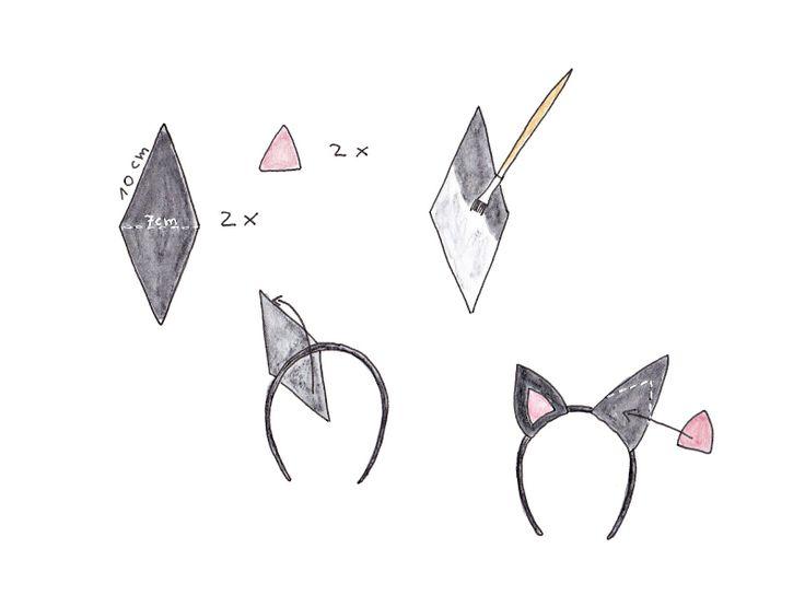 Kathi Pirati - Katzenohren DIY - cat ears