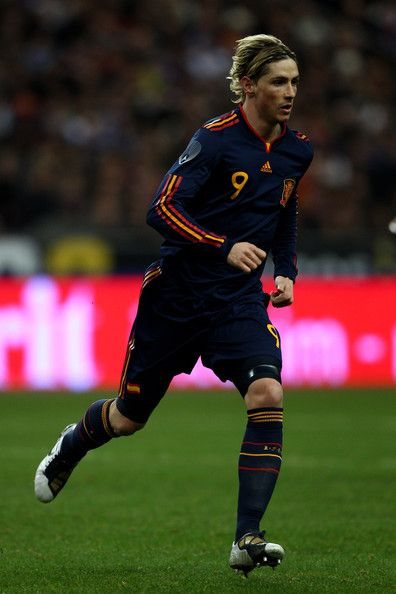 PARIS -FRANCE- MARCH 03:  Fernando Torres of Spain during the France v Spain International Friendly match at the Stade de France on March 3, 2010 in Paris, France.