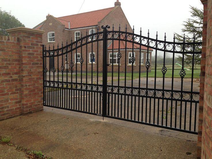 Wrought Iron Gates Black In 2019 Wrought Iron Gates