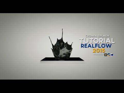 RealFlow and Cinema 4D - Crown Splash Tutorial