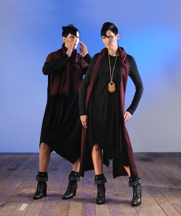 Mild-Red, New Zealand, Winter 2012, 'Truth, Lies & Secrets' Collection www.mild-red.com