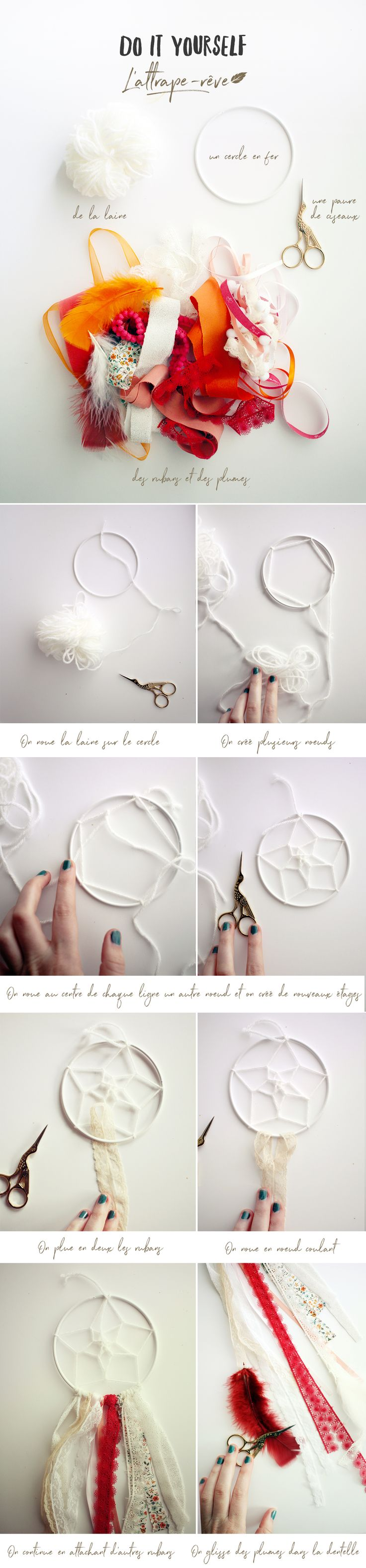 DIY : l'attrape-rêve folk & easy