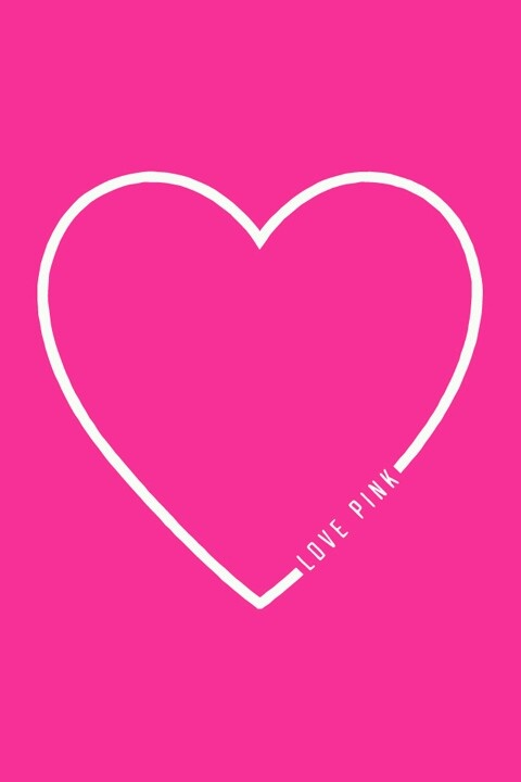 Love PINK Heart Pink Nation Pinterest Pink Wallpaper, Vs Pink and Victoria Secret Pink