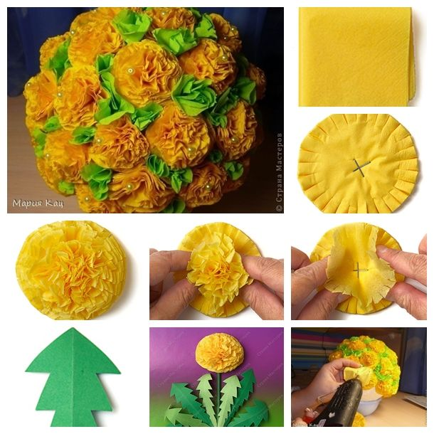 #DIY Paper Flowers --- simple, quick, and inexpensive, looks beautiful, and can last a long time.   Step by step ---> http://wonderfuldiy.com/wonderful-diy-beautiful-tissue-paper-flowers/