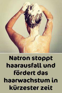 Natron stoppt Haarausfall und fördert das Haarwachstum in kürzester Zeit