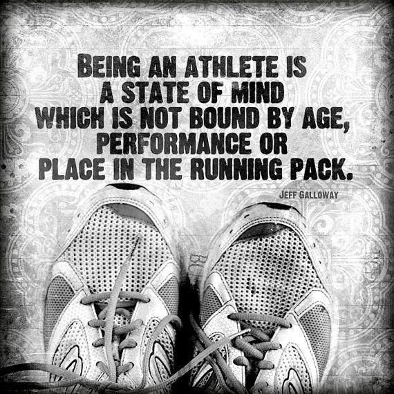 athlete marathon running galloway quote fitness