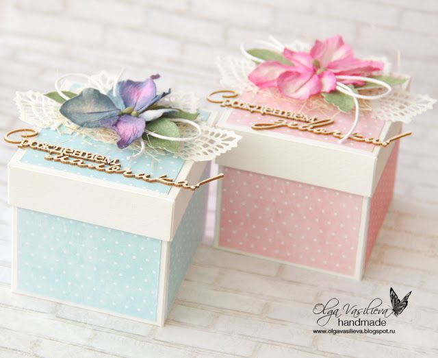 Gift boxes by Olga