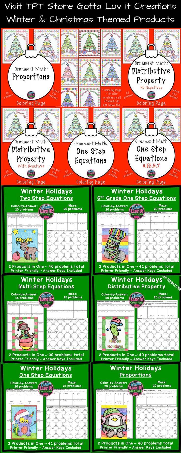 11 best Classroom- Holidays images on Pinterest | High school maths ...