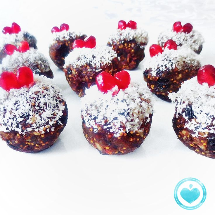 Christmas pudding fruit and nut  truffles! http://madewholeco.com/portfolio/