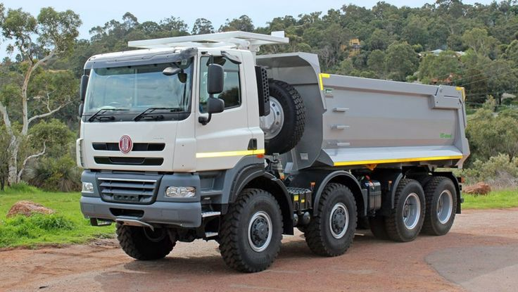 8x8 ONE-WAY TIPPER :: Tatratrucks.