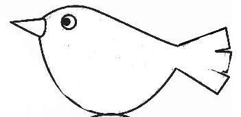 Dessin oiseau dessin pinterest - Dessin facile oiseau ...