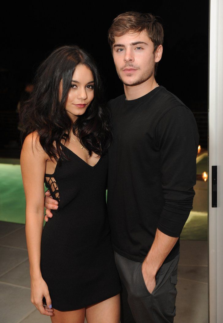 Pin for Later: 7 Beautiful Ladies Who Have Scored Zac Efron's Heart Vanessa Hudgens