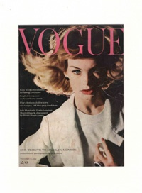 Vintage Magazine Covers-Iconic Vogue