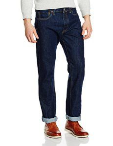 Levi's Homme 501 Original Straight Fit Jeans, Bleu (Onewash), W33/L32: Tweet Levis 501 Original Fit OnewashHommes Pantalon Bleu 00501-0101…