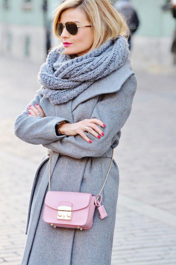 style, fashion, stylizacja, Mango, grey, szary,