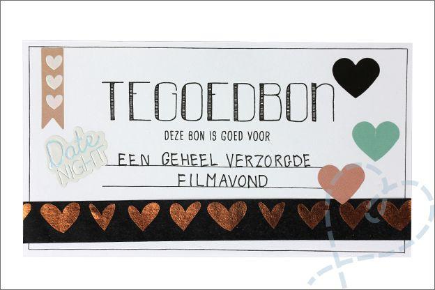 Ongebruikt DIY: Tegoedbonnen maken Valentijn, incl. gratis printable (met FK-46