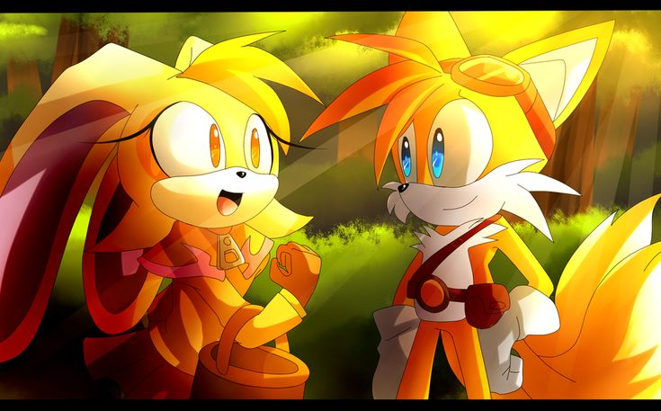 There you are, Tails by Artheyna on DeviantArt