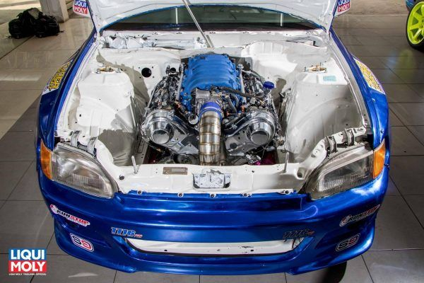 RWD Honda Civic with a 3UZ V8 | Engine Swaps | Honda, Honda