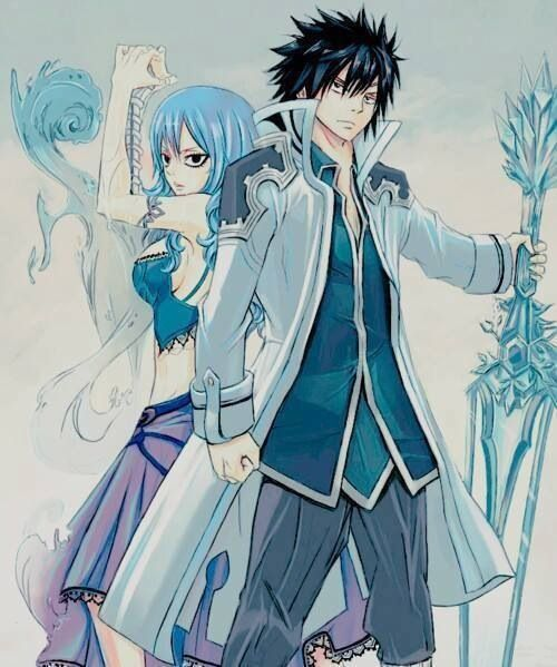 Fairy Tail  Grey and J...