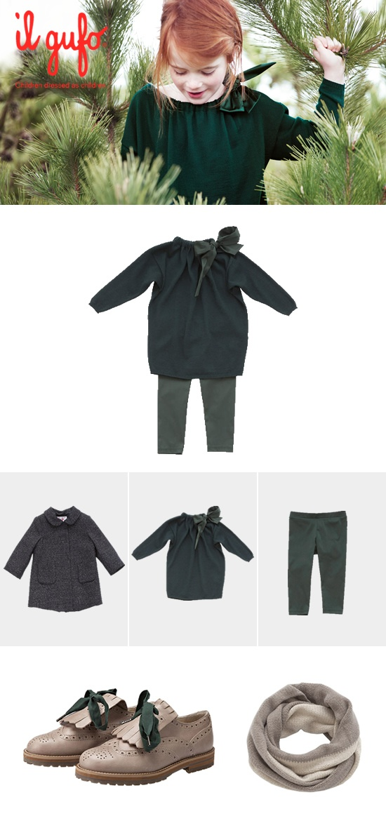 Il Gufo AW 2012-13 #Fashion #children #kids #kidswear #girls #boys #outfit   Create your outfit #ilgufoutfit and become a pinner for this board!  Shop online: http://shop.ilgufo.it/en/fw-collection/girl-2-14-years/looks.html