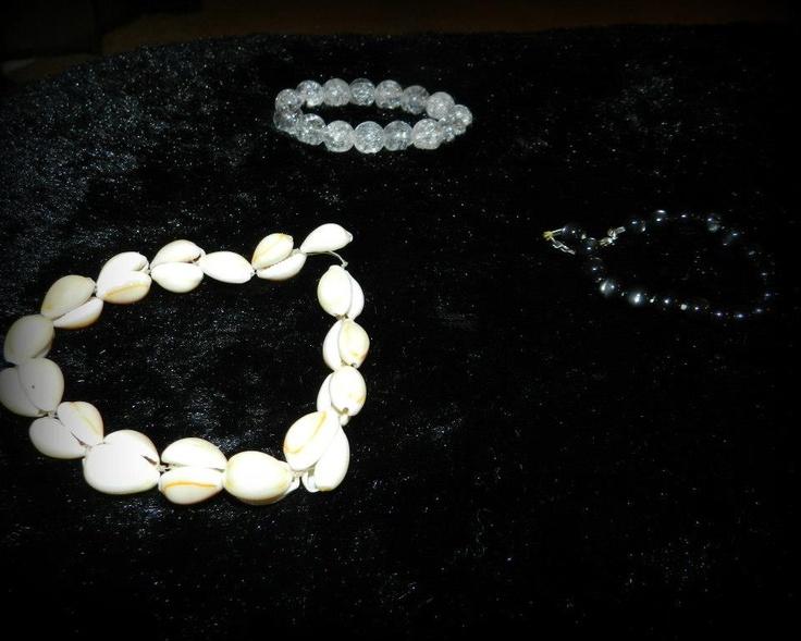 Bracelets I've made!