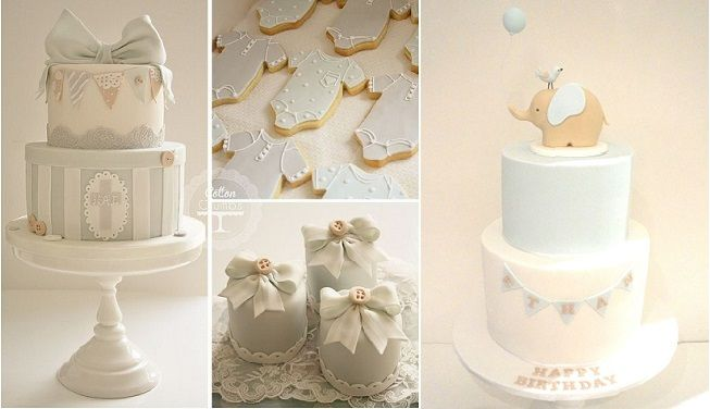 Christening-cake-with-bunting-by-Cotton-Crumbs-left-and-baby-cake-with-bunting-by-Cake-Envy-Melbourne-rightinspired-by-Sweet-Tiers-and-Cake-Avenue.jpg 653×376 píxeles