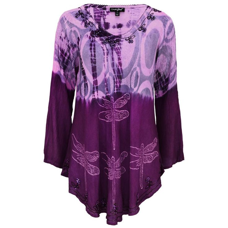 Darting+Dragonfly+Long+Sleeve+Tunic+at+The+Animal+Rescue+Site
