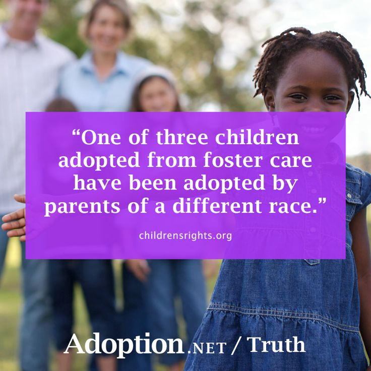 One Of Three Children Adopted From Foster Care Have Been