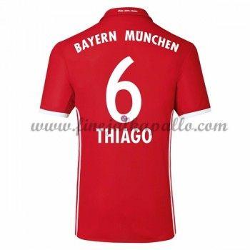 Jalkapallo Pelipaidat Bayern Munich 2016-17 Thiago 6 Kotipaita