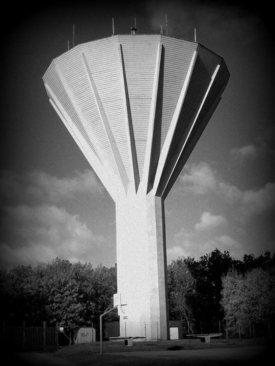 Water tower, Kohoutovice, Brno, Czech Republic