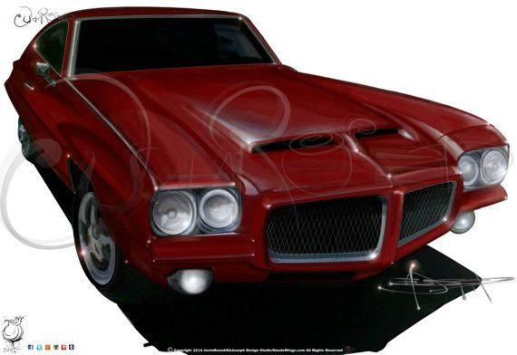 Classic GTO Drawing Hand-Drawn Fully-Detailed от Juxtarosed