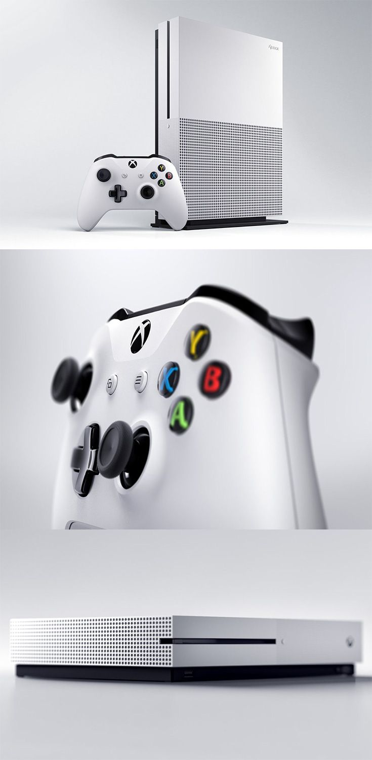 The 'One S' is the better-looking, younger brother of the Xbox One, it is minimalistic and most attractive console ever... READ MORE at Yanko Design !