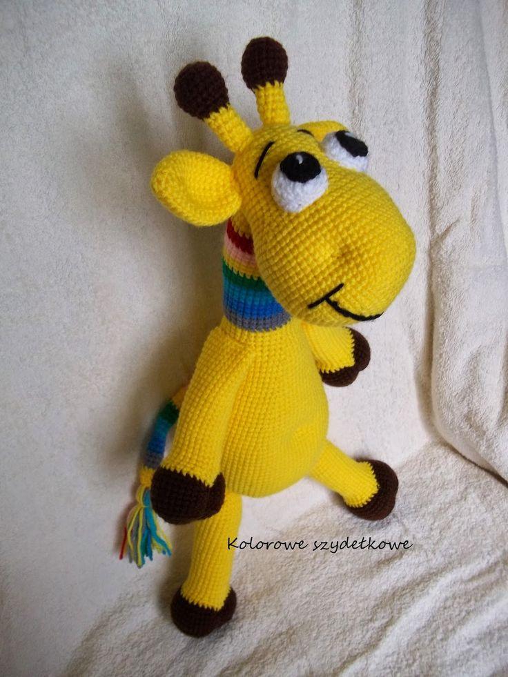 Kolorowe szydełkowe: Żyrafa i rozpoczęcie sezonu turystycznego