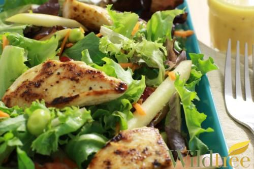 Chopped Chicken & Apple Salad with Orange Dressing - Wildtree Recipes, Chipolte Lime Rub