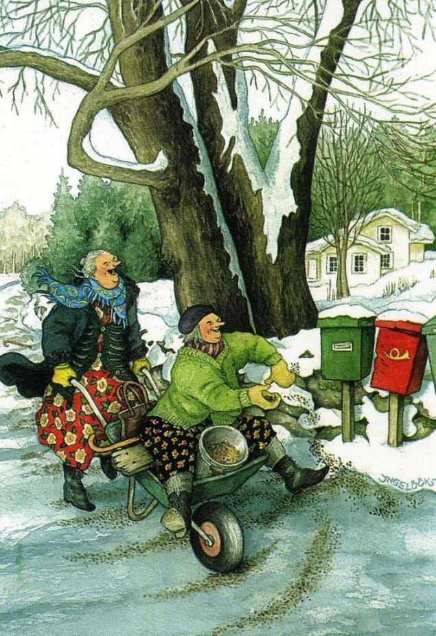 Старушка веселушки открытки, картинка
