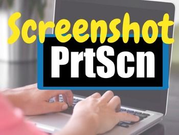 • This free guide shows students how to take a Screen Shot (Print Screen) on a PC or a Mac computer and how to insert it into a document and crop it! • Taking a Screen Shot is a very helpful tool and I have found most students are unaware how to do it.